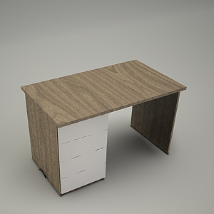 free 3d models - HEBE desk and container BP23