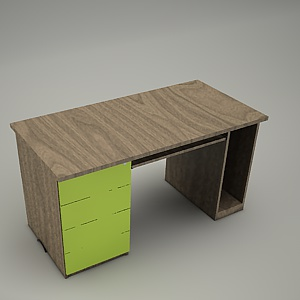free 3d models - HEBE desk and container BP25
