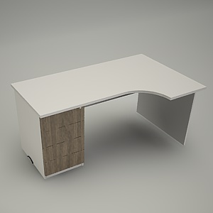 free 3d models - HEBE desk and container BP29