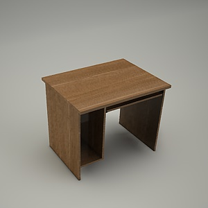 free 3d models - HEBE desk and container BP31