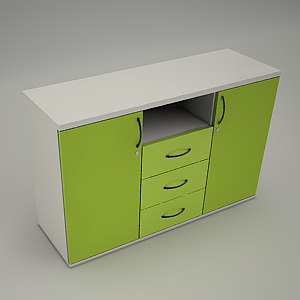 free 3d models - HEBE cabinet TS203