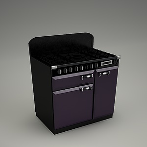 cooker falcon elan 90 falcon free 3d models free 3d base. Black Bedroom Furniture Sets. Home Design Ideas