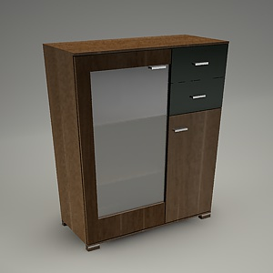free 3d models - TIRION cabinet M301