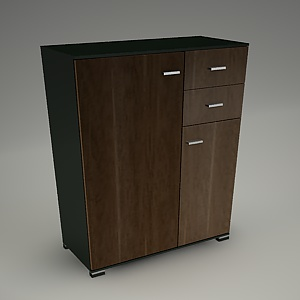 free 3d models - TIRION cabinet M303