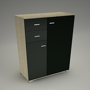 free 3d models - TIRION cabinet M304