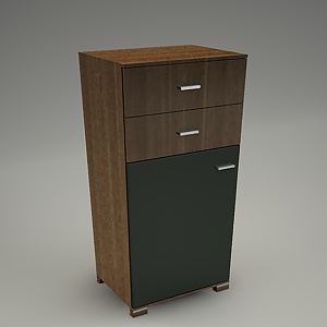 free 3d models - TIRION cabinet M307