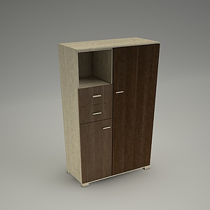 free 3d models - TIRION cabinet M404