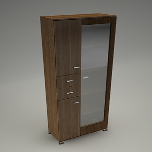 free 3d models - TIRION cabinet M502