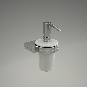 A-QA soap dispenser 3d model - 4897605_3