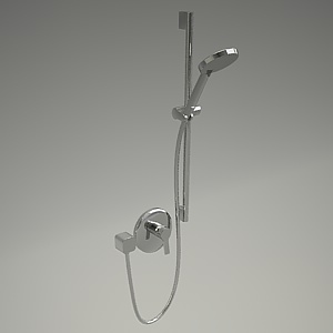 free 3d models - A-QA shower set 387600575+6573005-00