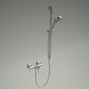 free 3d models - A-QA shower set 388310576+6563005-00_3
