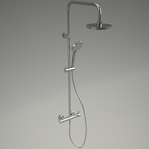 free 3d models - A-QA shower set 6609505-00_3
