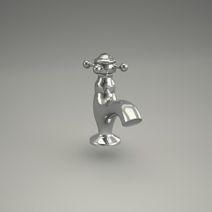 free 3d models - ADLON basin mixer 51014__20_3