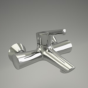KIDO bath mixer 3d model 394450575_3