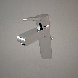 Basin mixer III 3d model O-CEAN