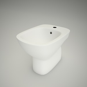 free 3d models - Bidet standing style