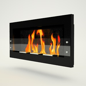 free 3d models - Bio_fireplace free 3d model