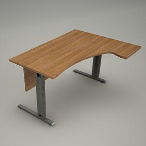 free 3d models - Desk HEBE BE07