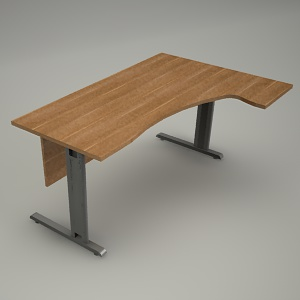 free 3d models - Desk HEBE BE09