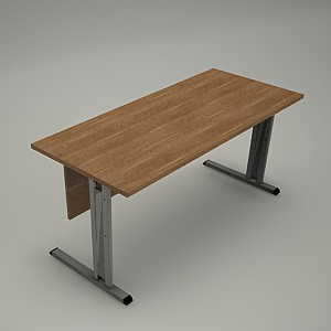 free 3d models - Desk HEBE plain BE01