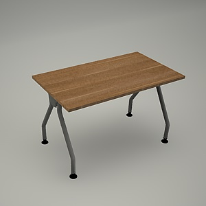 free 3d models - Desk HEBE plain BG03