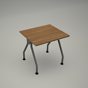 free 3d models - Desk HEBE plain BG04