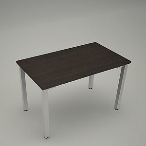 free 3d models - Desk HEBE plain BK03