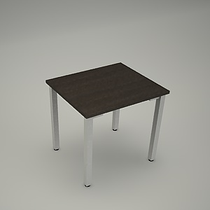 free 3d models - Desk HEBE plain BK04