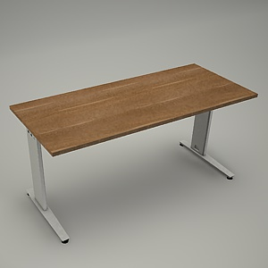 free 3d models - Desk HEBE plain BL01