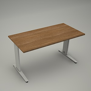 free 3d models - Desk HEBE plain BL02