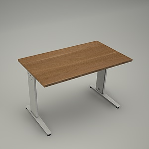 free 3d models - Desk HEBE plain BL03