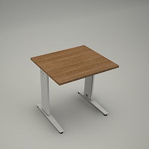 free 3d models - Desk HEBE plain BL04