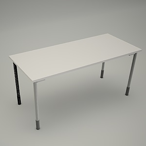free 3d models - Desk HEBE plain BO01