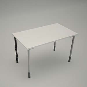 free 3d models - Desk HEBE plain BO03