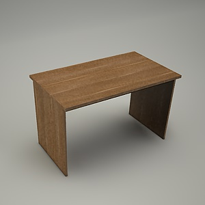free 3d models - Desk HEBE plain BP03
