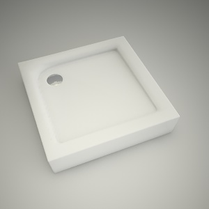 free 3d models - Shower tray first 80cm