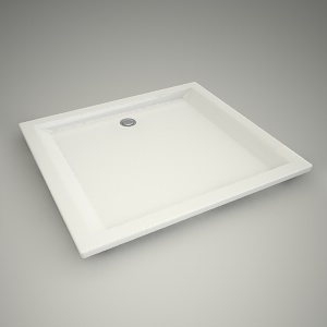 free 3d models - Shower tray pacyfik 100x90cm