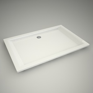 Shower tray pacyfik 120x80cm