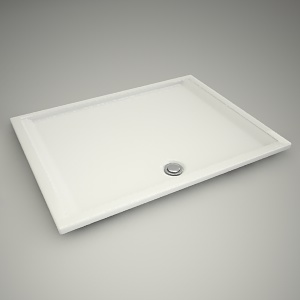 free 3d models - Shower tray pacyfik 120x90cm