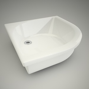 Shower tray h-r deep 80cm