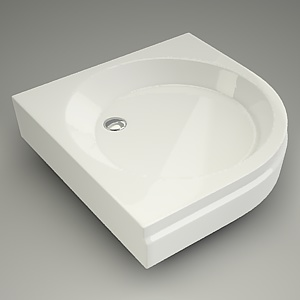 half-round tray VIKING 90 panel