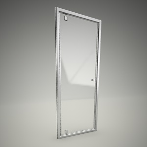 free 3d models - Shower door pivot fitst 80