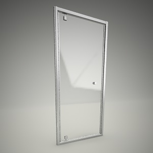 free 3d models - Shower door pivot fitst 90