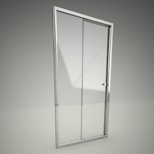 free 3d models - Sliding shower doors first 120
