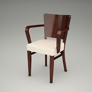 free 3d models - FAMEG armchair 3d model B-0031