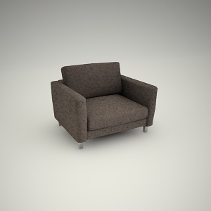 free 3d models - Armchair free 3d model 1