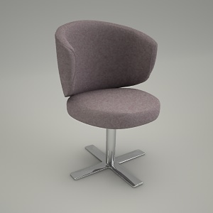 free 3d models - Chair CLUBIN CB 216