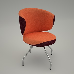 free 3d models - Conference chair CLUBIN CB 220