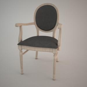 Armrest Chair B 9416 3d Model Fameg Fameg Free 3d Models