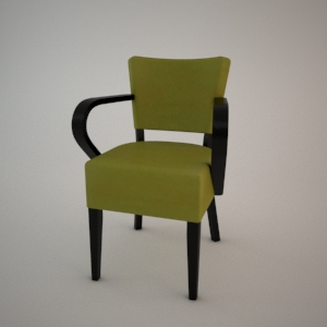 Armrest Chair B 96081 3d Model Modern Fameg Free 3d